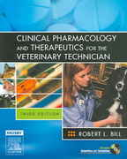 Clinical Pharmacology and Therapeutics for the Veterinary Technician 3rd Edition 9780323011136 0323011136
