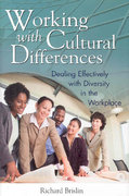 Working with Cultural Differences 1st edition 9780313352829 0313352828