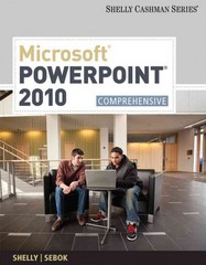 Microsoft PowerPoint 2010 1st Edition 9781439079034 143907903X