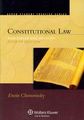Constitutional Law 4th edition 9780735598973 0735598975