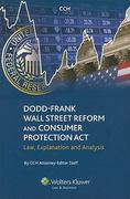 Wall Street Reform and Consumer Protection Act Of 2010 0 9780808021643 0808021648
