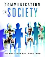 Communication in Society 1st edition 9780205627875 0205627870