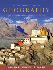 Introduction to Geography 5th Edition 9780321695314 0321695313