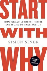 Start with Why 1st Edition 9781591846444 1591846447