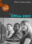 Microsoft Office 2007: Introductory Concepts and Techniques, Premium Video Edition (Book Only) 1st edition 9781111529024 1111529027