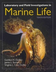Laboratory and Field Investigations in Marine Life 1st Edition 9781449605018 144960501X