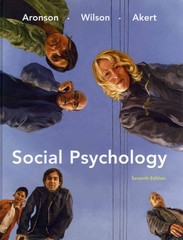 Social Psychology (with MyPsychLab with E-Book Student Access Code Card) 7th edition 9780205773794 0205773796
