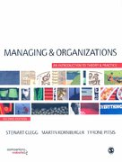 Managing and Organizations 2nd edition 9781412948784 1412948789