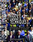 Tools and Techniques of Employee Benefits 7th edition 9780872182905 0872182908