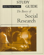 The Basics of Social Research 1st Edition 9780534559557 0534559557