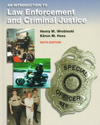 Introduction to Law Enforcement and Criminal Justice 6th edition 9780534519216 0534519210