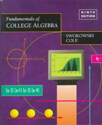 Fundamentals of College Algebra 9th edition 9780534950477 0534950477