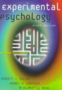 Experimental Psychology 6th Edition 9780321011466 0321011465