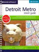 Rand Mcnally Detroit Metro Street Guide 6th edition 9780528867033 0528867032