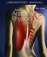 Laboratory Manual Anatomy & Physiology: The Unity of Form and Function 5th edition 9780073250953 0073250953