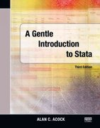 A Gentle Introduction to Stata, Third Edition 3rd edition 9781597180757 1597180750