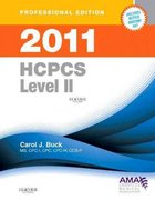 2011 HCPCS Level II (Professional Edition) 0 9781437702125 1437702120
