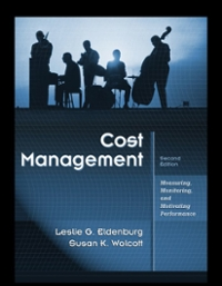 Cost Management 2nd edition 9780470769423 0470769424