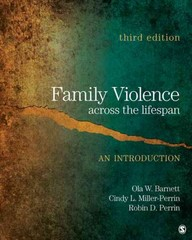 Family Violence Across the Lifespan 3rd Edition 9781412981781 1412981786