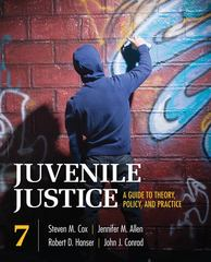 Juvenile Justice 7th edition 9781412982252 1412982251