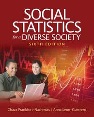 Social Statistics for a Diverse Society 6th Edition 9781412992534 1412992532