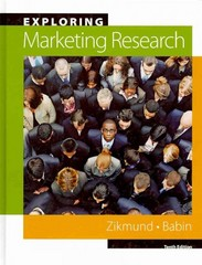 Exploring Marketing Research (Book Only) 10th Edition 9780324593761 0324593767