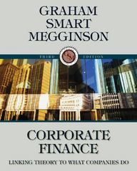 Corporate Finance (Book Only) 3rd edition 9780324782967 0324782969