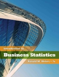 Introduction to Business Statistics (Book Only)