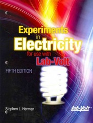 Lab Manual Experiments in Electricity for Use with Lab-Volt 5th edition 9781111539177 1111539170