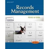 Records Management Simulation 9th Edition 9780538731423 0538731427