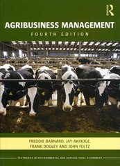 Agribusiness Management 4th Edition 9780415596961 0415596963