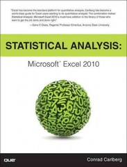 Statistical Analysis 1st Edition 9780789747204 0789747200