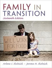 Family in Transition 16th edition 9780205747306 0205747302