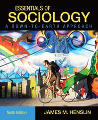 Essentials of Sociology 9th edition 9780205763122 020576312X