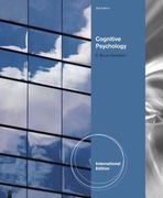 Cognitive Psychology 3rd Edition 9781111185886 1111185883