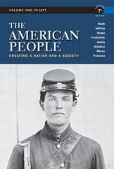 The American People 7th edition 9780205805396 0205805396