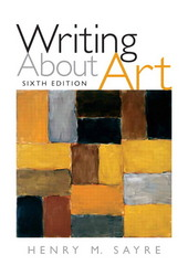 Writing About Art 6th edition 9780205645787 020564578X
