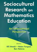 Sociocultural Research on Mathematics Education 0 9781135653088 1135653089