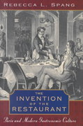 The Invention of the Restaurant 1st Edition 9780674000643 0674000641