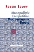 Monopolistic Competition and Macroeconomic Theory 0 9780521626163 0521626161