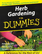Herb Gardening For Dummies? 1st edition 9780764552007 0764552007