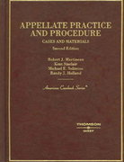 Cases and Materials on Appellate Practice and Procedure, 2005 2nd edition 9780314152466 0314152466