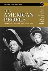 The American People 7th edition 9780205805389 0205805388