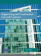 Engineering and Construction Law & Contracts 1st Edition 9780135033524 0135033527