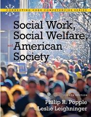 Social Work, Social Welfare and American Society 8th Edition 9780205793839 0205793835
