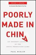 Poorly Made in China 2nd Edition 9780470928073 0470928077