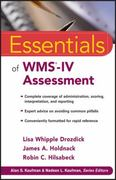 Essentials of WMS-IV Assessment 1st Edition 9780470621967 0470621966