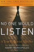 No One Would Listen 1st Edition 9780470919002 0470919000