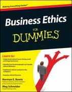 Business Ethics For Dummies 1st edition 9780470600337 0470600330
