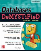 Databases DeMYSTiFieD, 2nd Edition 2nd Edition 9780071747998 0071747990